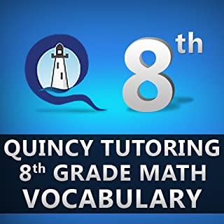 Quincy Tutoring 8th Grade Math Vocabulary Flashcards