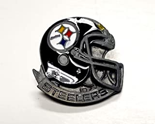 Rico Industries, Inc. Pittsburgh Steelers Glossy Metal Hat Lapel Pin Team Logo Football