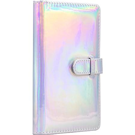Ablus 96 Pockets Mini Photo Album for Fujifilm Instax Mini Camera, Polaroid Snap, Z2300, SocialMatic Instant Cameras & Zip Instant Printer (Magic Silver)