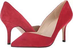 Luxe Red New Silky Suede