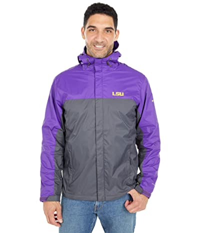 Columbia College LSU Tigers Glennaker Stormtm Jacket (Vivid Purple/Dark Grey) Men