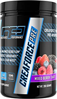 CREAFORCE PRE Complete Pre-Workout - Mixed Berry Tart, 40 Servings