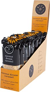 KITZ Organic Coconut Dream Caramel Energy Bar | Delicious Sweet Vegan Snacks for lunch box | Gluten Free and Dairy Free | ...