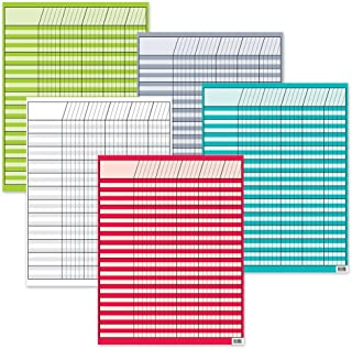 Creative Teaching Press Bright Colors Incentive 5-Chart Pack (0974)