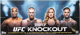 2017 topps ufc knockout hobby box
