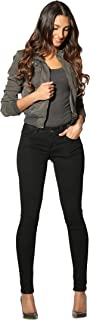 Rose Royce Rubberband Stretch Women's Skinny Jeans (Sarina/Black)