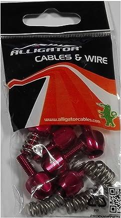 10/x tampons pour housse de 5/mm pour c/âble transmision v/élo et moto v/élo 3854