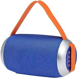 Portable Wireless Bluetooth Speaker Outdoor Column Box Subwoofer Speaker Stereo Music Player Multifunction Loudspeaker TF Card Line-in FM U Disk