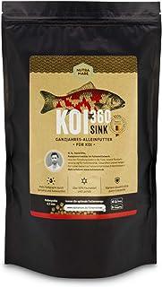 Nutramare Koi360 Sink Frühlingsfutter   Sinkendes Koifutter für den Frühling, Mit Kräuteröl und Spirulina, Lange formstabil