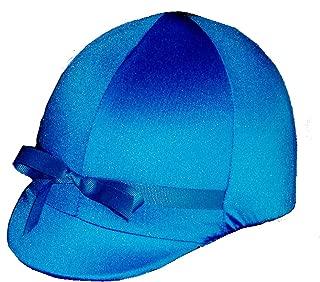 Equestrian Riding Helmet Cover - ROYAL BLUE