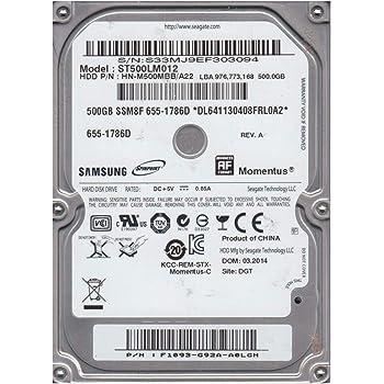 St500lm012 Seagate 500Gb 5400Rpm Sata-300 2.5Inch 8Mb Cache Laptop Ha