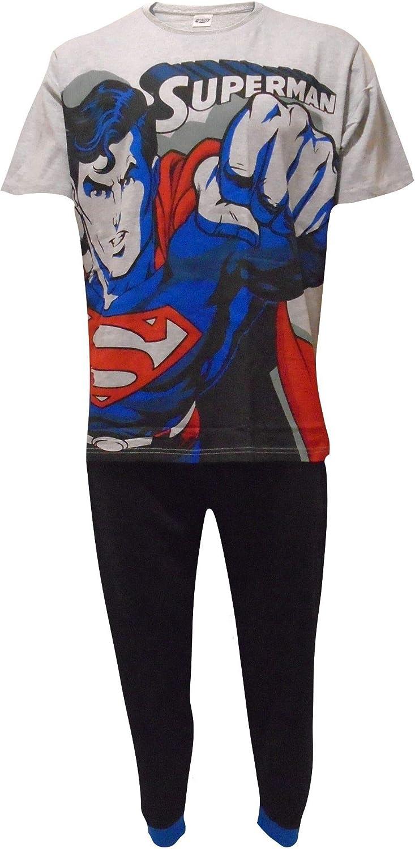 DC Comics Conjunto de Pijamas Superman con Personaje de Novedad para Hombre