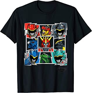 Power Rangers Dino Charge Grip Design T- Shirts