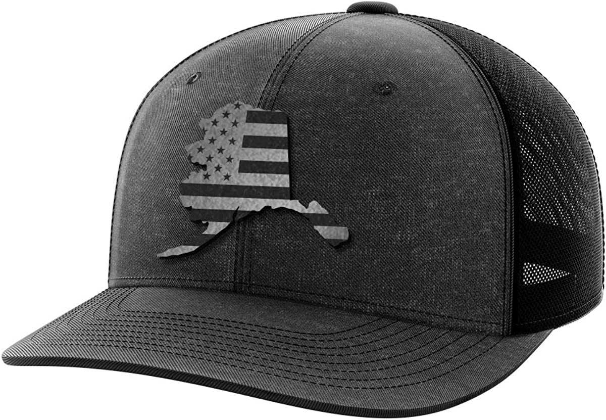 Alaska United Black Patch Hat