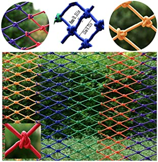 Children's Stairs Safety Net Balcony Anti-Falling Net Color Nylon Woven Net Party Wall Ceiling Net Railing Seine Pet Toy Protection Net