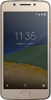 Motorola XT1670 Smartphone Moto G5 color Dorado. Single SIM,