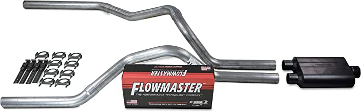 Truck Exhaust Kits DIY dual exhaust system 2.5 pipe Flowmaster Super 40