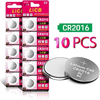 CR2016 3V Lithium Battery(10-Pack)