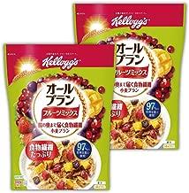 【Amazon.co.jp限定】 ケロッグ オールブラン フルーツミックス 徳用袋 440gx2個セット