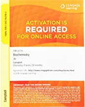 OWLv2, 4 terms (24 months) Printed Access Card for Campbell/Farrell/McDougal's Biochemistry, 9th