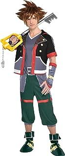Sora Halloween Costume for Men, Kingdom Hearts, Standard, Includes Accessories