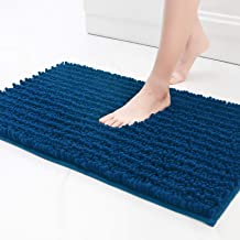 Color&Geometry Original Luxury Chenille Bath Rug Mat, 20x32 Shaggy Rugs, Soft and Absorbent, Machine Wash Dry, Non-Slip Ca...