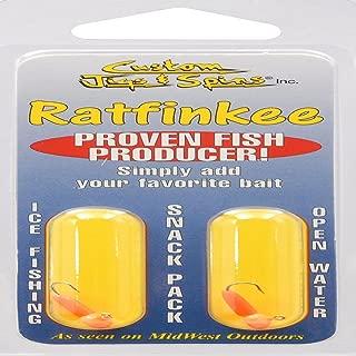 Custom Jigs And Spins Rat Fink 10 Hot Orange Fishing-Equipment