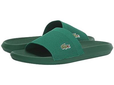 Lacoste Croco Slide 219 2 US CMA (Green/Green) Men