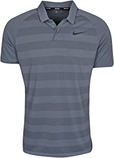 Nike Men's Zonal Cooling Stripe STD Golf Polo
