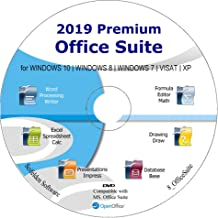 Office Suite 2019 Alternative to Office Home Student and Business Compatible with Word, Excel, PowerPoint for Windows 10, ...