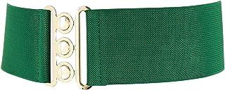 FASHIONGEN - Wide Waist Elasticated Woman Belt Made in France, GLORIA