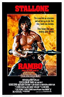 Posters USA - Stallone Rambo First Blood Part II Movie Poster GLOSSY FINISH - FIL151 (24