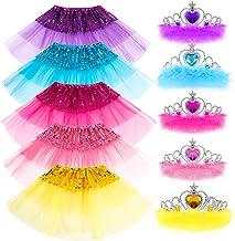لباس مجلسی پرنسس لباس مجلسی هدیه دخترانه تاج دخترانه Tiara Belle Elsa Party لباس های دخترانه را مورد استقبال قرار می دهد