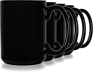 Best black glass coffee mugs Reviews