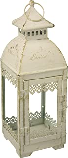Gallery of Light 10018612 White Lace Victorian Style Lantern, Multicolor