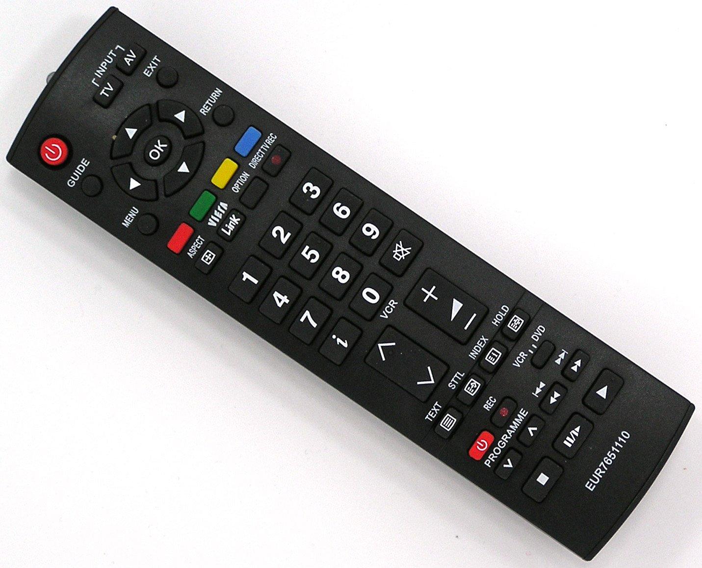EUR7651110, EUR7651120 Mando a distancia de sustitución para Panasonic: Amazon.es: Electrónica