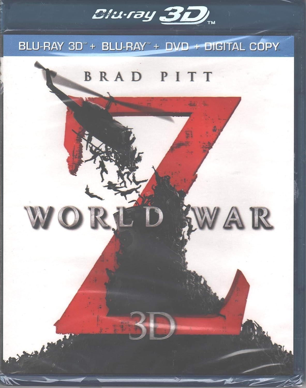 World War Z 3D [Blu-Ray 3D + Blu-Ray + DVD + Digital Copy]