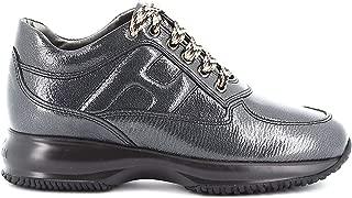 HOGAN Luxury Fashion Womens HXW00N00010LERB999 Silver Sneakers | Fall Winter 19