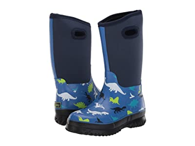 Hatley Kids Dino Heard All Weather Boot (Toddler/Little Kid) (Blue) Boy