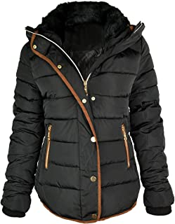 Women's Quilted Hooded Winter Puffer Coat