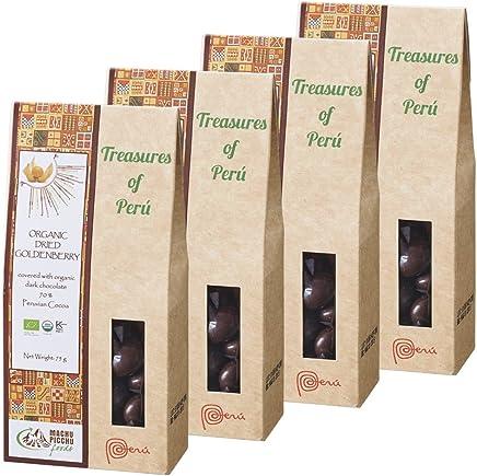 ペルーお土産 ペルー ゴールデンベリーチョコレート 4箱セット