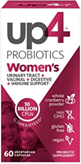 up4 Women's Advanced Care Probiotic Supplement | Vaginal Health + Digestive + Immune Support* | 25 Billion CFUs Guaranteed...