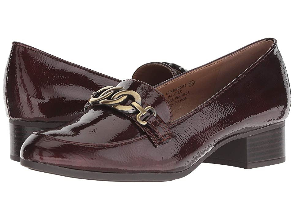 Image of A2 by Aerosoles Accommodate (Wine Patent) Women's Slip on Shoes