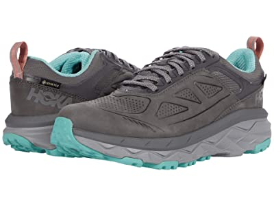 Hoka One One Challenger Low GORE-TEX(r) (Charcoal Gray/Wild Dove) Women
