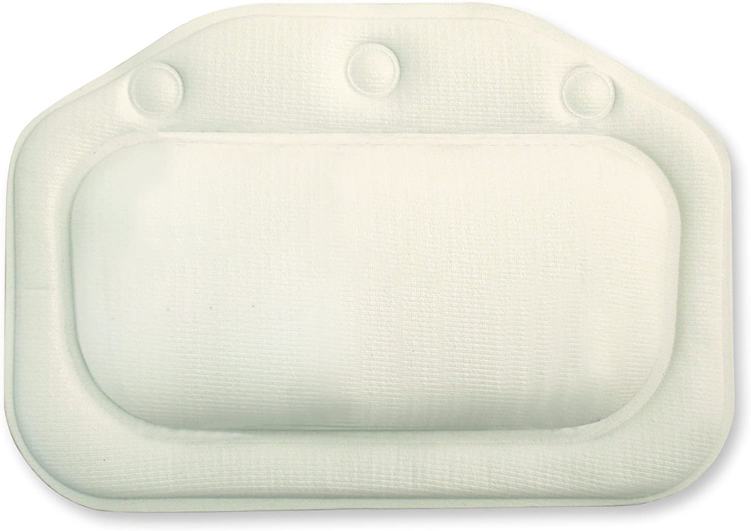 Croydex White Soft Cushioned Bath Ranking TOP2 with Pillow Cups Virginia Beach Mall Suction