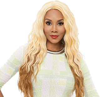 Vivica A Fox Yucera Synthetic Fiber Natural Baby Hair Lace Front Wig, GM613/27, 13 Ounce