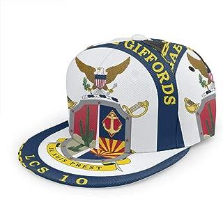 USS Gabrielle Giffords Unisex 3D Printing Classic Baseball Cap Snapback Flat Bill Hip Hop Hats