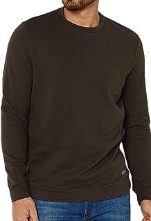Mens Brave Soul Jumper Crew Neck Long Sleeve Jersey Pullover Sweatshirt Top
