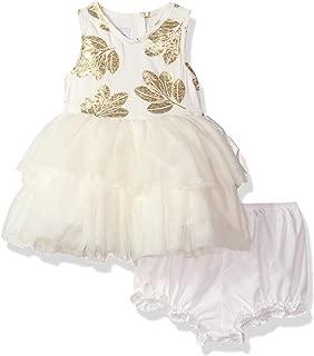 PIPPA & JULIE Baby Girls Sleeveless Tiered Tutu Dress