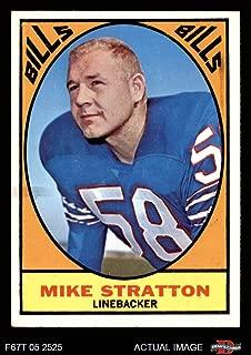 1967 Topps # 29 Mike Stratton Buffalo Bills (Football Card) Dean's Cards 5 - EX